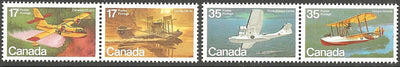 Canada 844a & 846a MNH - Airplanes