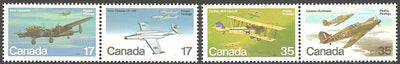 Canada 874a & 876a MNH - Airplanes