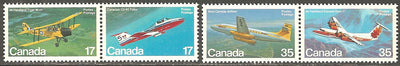Canada 904a & 906a MNH - Airplanes