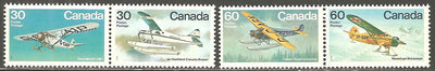 Canada 970a & 972a MNH - Airplanes