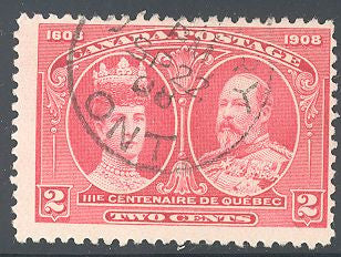 Canada 98 Used - Quebec Tercentenary - Socked on the Nose