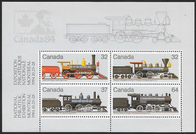 Canada 1039a MNH - Canadian Locomotives