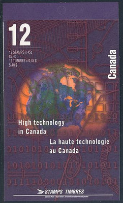 Canada BK191 (1598a) Complete Booklet - Technology