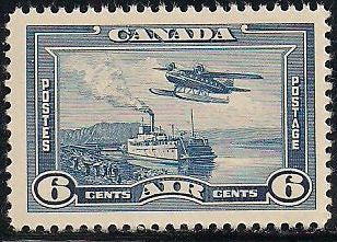 Canada C6 MNH - ‭Steamer and Seaplane