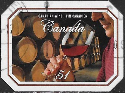 Canada 2169 Used - Canadian Wines & Cheeses - Wine Taster, Barrels