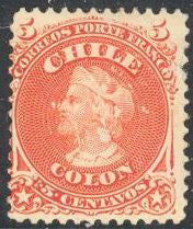 Chile 17 Unused/Hinged - Christopher Columbus