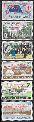 Cook Islands 164-169 MNH - Winston Churchill Memorial