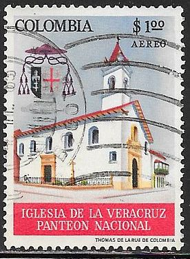 Colombia C459 Used - Church of the True Cross, Bogata
