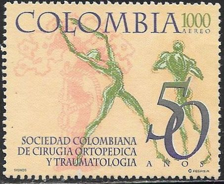 Colombia C901 Used - Society of Orthopedic Surgery & Traumatology 50th Anniversary