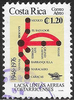 Costa Rica C678  Used - Costa Rican Air Lines