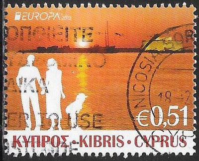 Cyprus 1173 Used - Europa - Tourist Attractions - Family