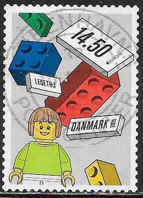 Denmark 1704 Used - Lego Blocks - Blocks of Various Colors - Girl