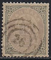 Denmark 29a Used - Inverted Frame - Numeral