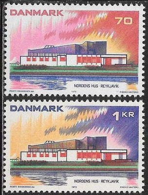 Denmark 527-528 MNH - Nordic Cooperation - Nordic House