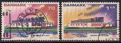 Denmark 522-523 Used - Nordic Cooperation - Socked on the Nose