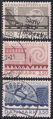 Denmark 742-742 Used - Life Saving & Salvaging