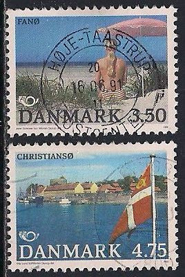 Denmark 939-940 Used - Islands - Socked on the Nose