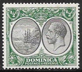 Dominica 65 Unsed/Hinged - Colony Seal - George V