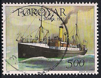 Faroe Islands 353 Used - Ship - Socked on the Nose