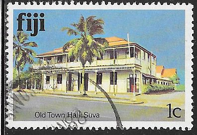 Fiji 409 Used - Old Town Hall, Suva