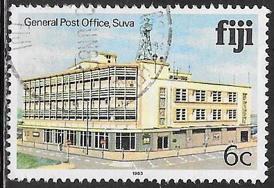 Fiji 413a Used - General Post Office, Suva - 1983