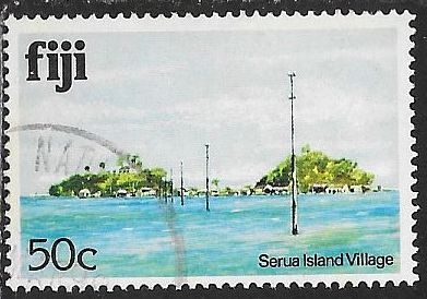 Fiji 422 Used - Serua Island Villiage