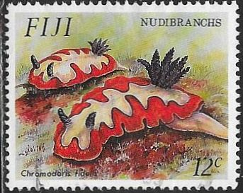 Fiji 692 Used - Nudibranchs