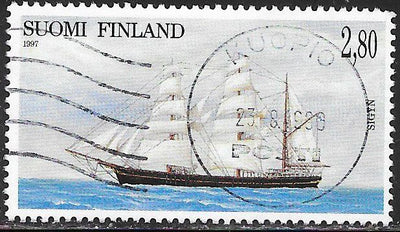 Finland 1047 Used - Sailing Ships - ‭‭Sigyn