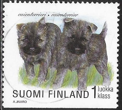 Finland 1085 Used - Puppies - ‭‭Scottish Cairn Terrier
