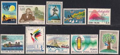 Finland 10 MNH Stamps