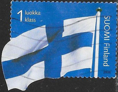 Finland 1254 Used - Flag