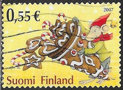 Finland 1299 Used - ‭Christmas - Treats