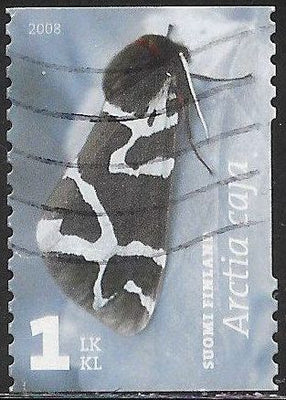 Finland 1314a Used - Moths - Great Tiger Moth