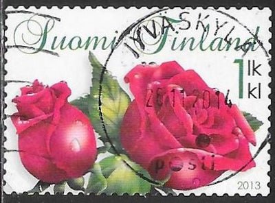 Finland 1425 Used - ‭Flowers - Roses