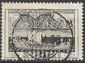 "Finland 208 Used -‭ ‭Publication of the ""Kalevala"""
