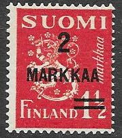 Finland 212 MNH - Coat of Arms