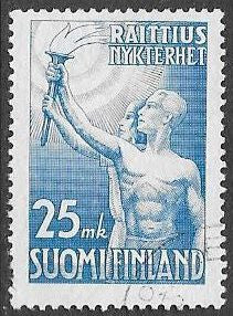 Finland 309 Used - 100th Anniversary of ‭Temperance movement in Finland