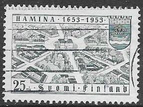Finland 310 Used - ‭Tercentenary of Hamina