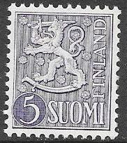 Finland 315 MNH - Coat of Arms