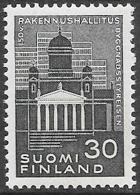 Finland 385 MNH - ‭150 Years of the Central Board of Buildings