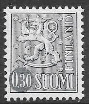 Finland 404A Unused/Hinged - ‭Coat of Arms