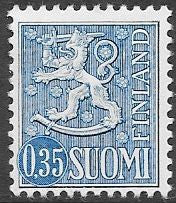 Finland 405 Unused/Hinged - ‭Coat of Arms