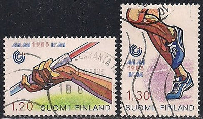 Finland 682-683 Used - Sports