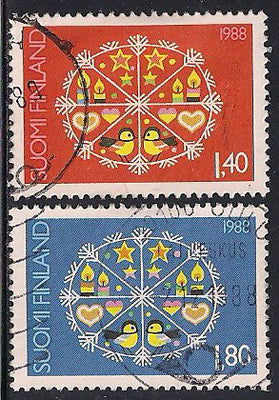 Finland 783-784 Used - Christmas