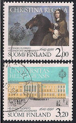 Finland 815-816 Used - University of Helsinki 350th