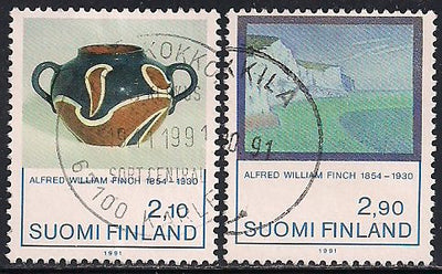 Finland 868-869 Used - Art- Alfred Finch