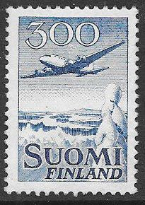 Finland C4 Disturbed Gum - ‭ ‭Douglas DC-6 Over Winter Landscape