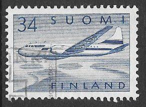 Finland C5 Used -‭ ‭Convair 440 over Lakes