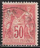 France 101a Used - Peace & Commerce