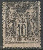 France 106 Used - Short Perf, - Peace & Commerce